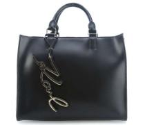 K/Metal Signature Handtasche schwarz
