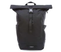 TBH Coated Tuck Pack Rolltop Rucksack 15″ schwarz
