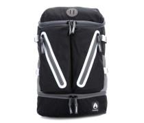 Scripps II Rucksack schwarz/weiß