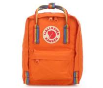 Kånken Rainbow Mini Rucksack orange