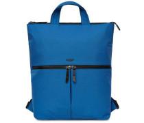 Dalston Reykjavik Rucksack-Tasche 15″ blau