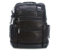Bravo Leather Knox Rucksack 15″ schwarz