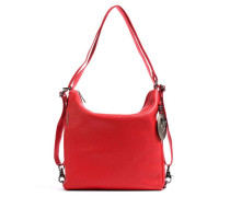 Mellow Leather Beuteltasche rot