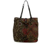 Special Azzurite Handtasche schwarz/grün