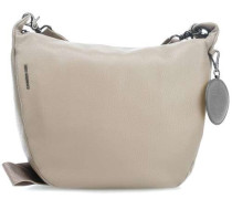 Mellow Leather Schultertasche taupe