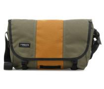 Classic S Kuriertasche 13″ grün/orange