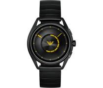 Connected Smartwatch schwarz