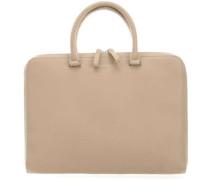 Leather Classic Myrtel Aktentasche 13″ beige