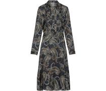 Hemdblusenkleid mit Paisleydruck