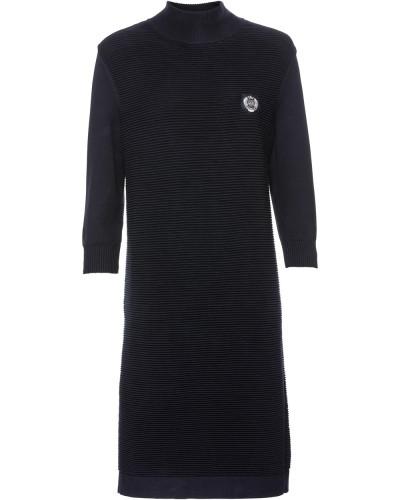 Kleid in Rippenstrick