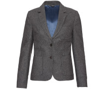 Wollblazer mit Patches