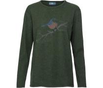 Pullover mit Vogel-Motiv