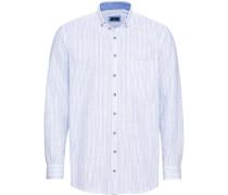 Trachtenhemd, gestreift