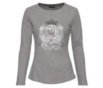 Langarm-Shirt mit Frontmotiv