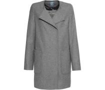 Kragenloser Mantel