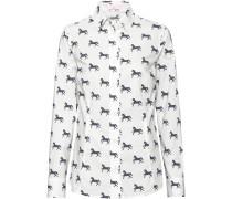 Bluse mit Pferdemotiv