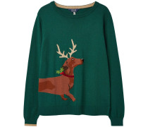 Intarsien-Pullover Festive