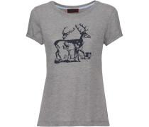 T-Shirt mit Hirschen