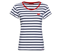 T-Shirt Small Ship Striped