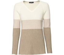 Blockstreifen-Pullover