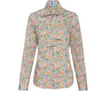 Liberty-Bluse mit Blumenmuster