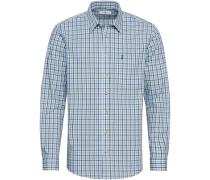 Trachtenhemd Basic, kariert