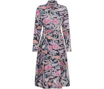 Langarm-Hemdblusenkleid