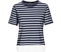 T-Shirt mit Bluseneinsatz