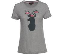 T-Shirt mit Hirsch