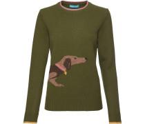 Pullover mit Dackelmotiv