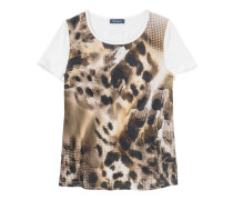 T-Shirt mit Animalprint