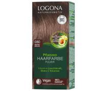 Pulver 080 Naturbraun Haarfarbe 100g