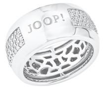 Ring Ring mit Zirkonia von , Silber 925, Größe 54 Weiß
