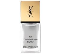 Nr. 106 - Clandestine Silver Nagellack 10ml