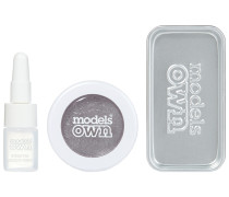 Silver Steel Make-up Set
