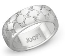 Ring Ring rhodiniert, Silber 925