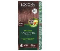 Pulver 090 Dunkelbraun Haarfarbe 100g
