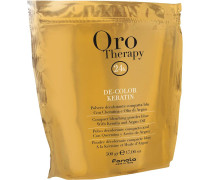 Oro Therapy De-Color Keratin Blondierpulver