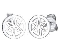 Ohrringe Blume Ornament Filigran 925 Sterling Silber