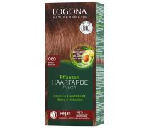 Pulver 060 Nussbraun Haarfarbe 100g