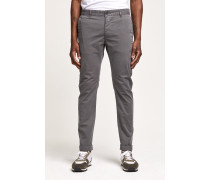 Clifton Slim Brushed Chino steel grey