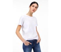 Rundhals T-Shirt white