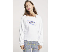 Idéaliste Sweatshirt white