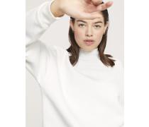 Sweatshirt mit Stehkragen blanched almond