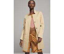 Mantel Pori aus Baumwoll Twill sahara