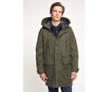 Shearling Parka olive nights