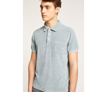 Frottee T-Shirt pale turquoise