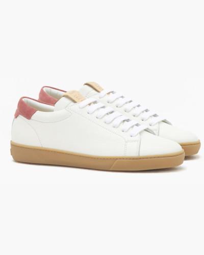 Leder Sneaker white