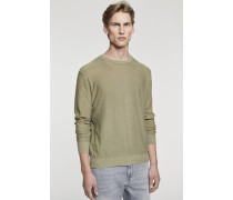 Pullover mit Farbdruck cut hay