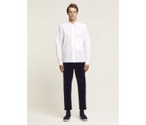 x F. Girbaud Hemd aus Popeline white